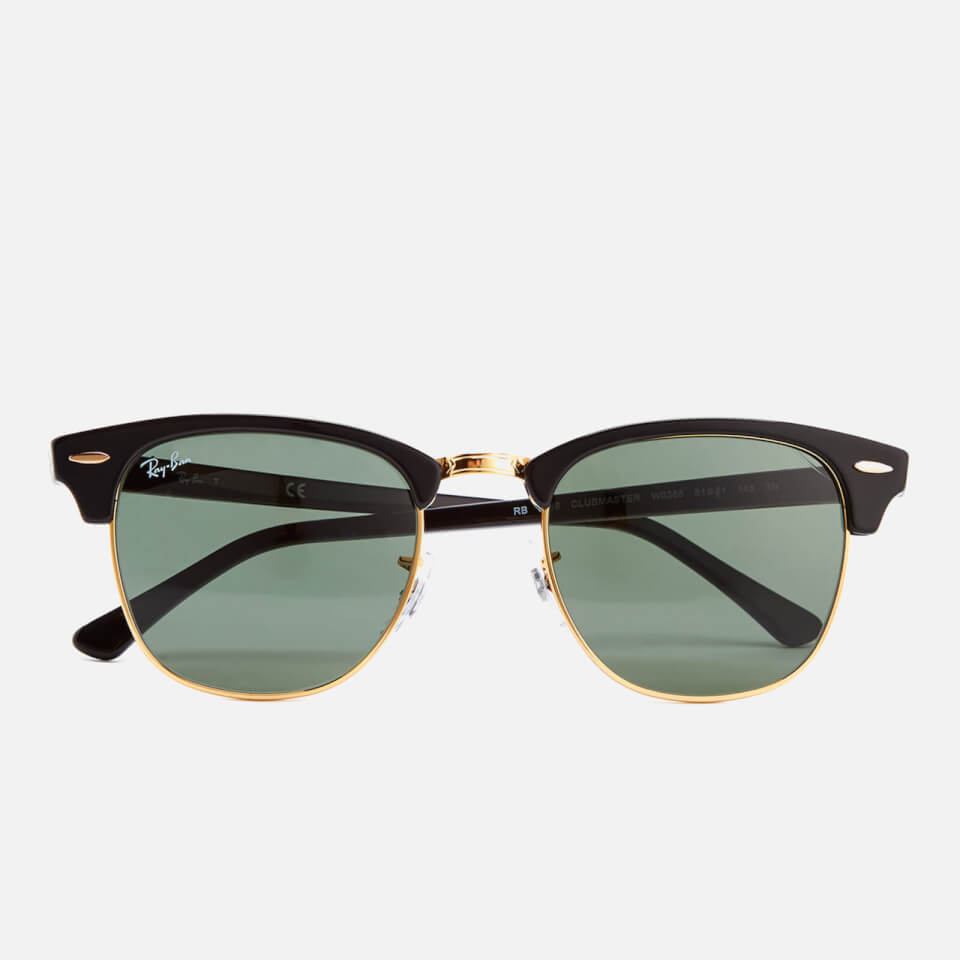 ray ban clubmaster sunglasses 49mm ebony arista. Black Bedroom Furniture Sets. Home Design Ideas
