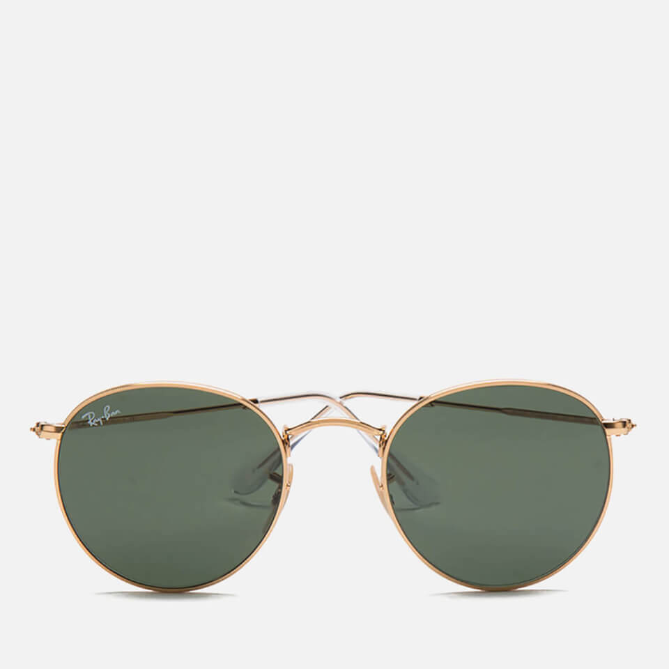 4ff64a36f6 Ray-Ban Round Metal Sunglasses - Arista Crystal Green - 50mm - Free UK  Delivery over £50