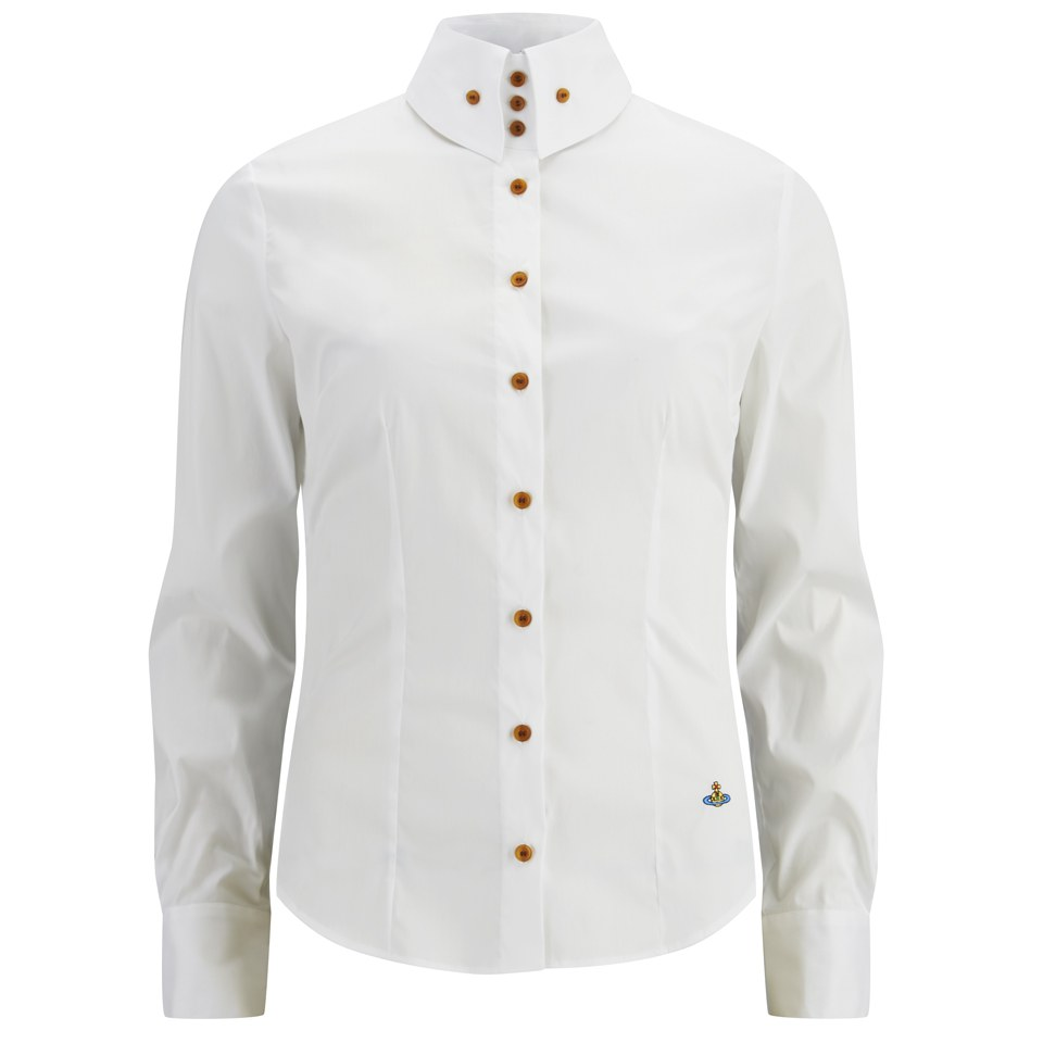 a053d02815 ... Vivienne Westwood Red Label Women's Classic Krall Shirt - White