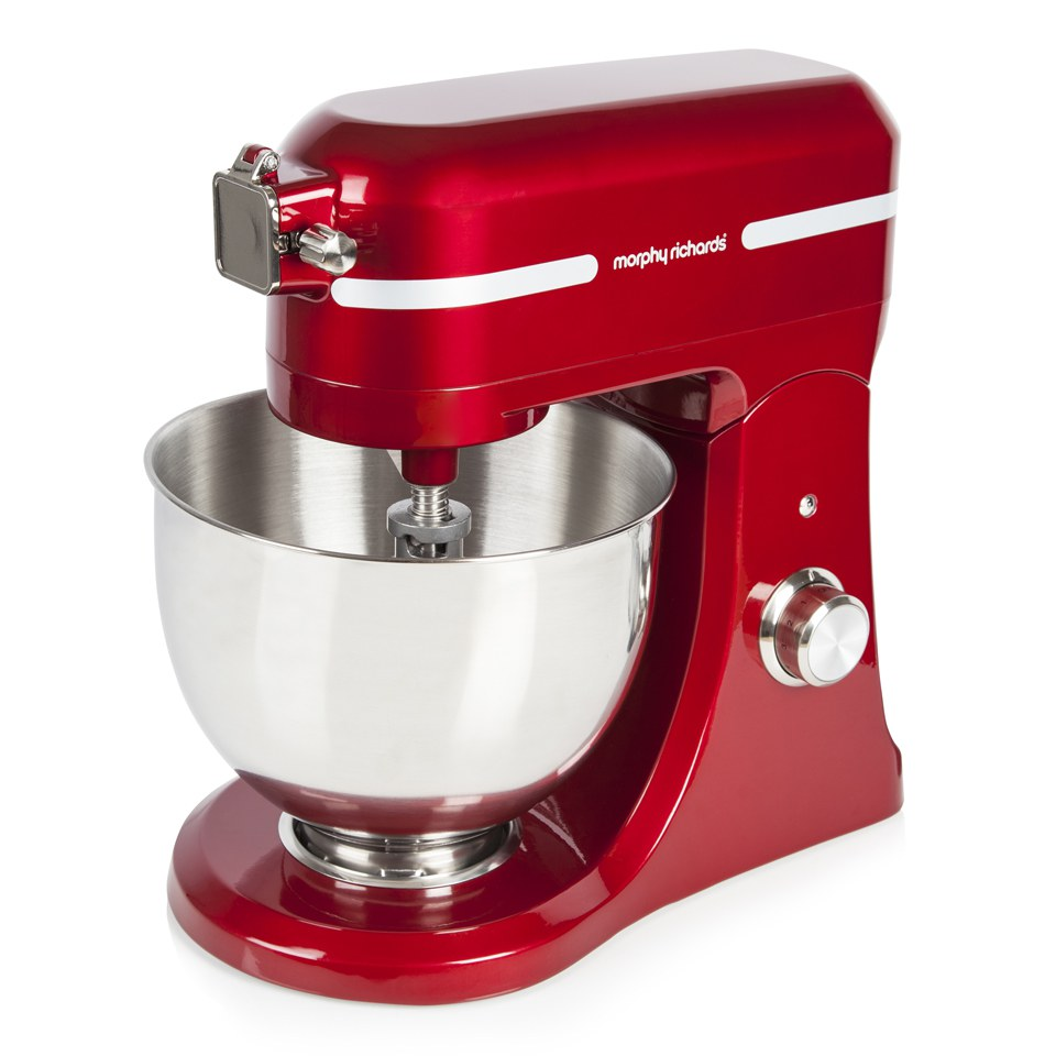 morphy richards red kitchen accessories morphy richards 400007 professional diecast stand mixer 9291