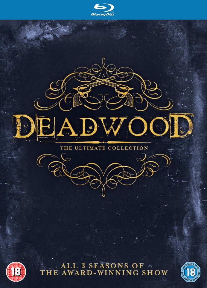 Deadwood The Complete Collection Blu-ray