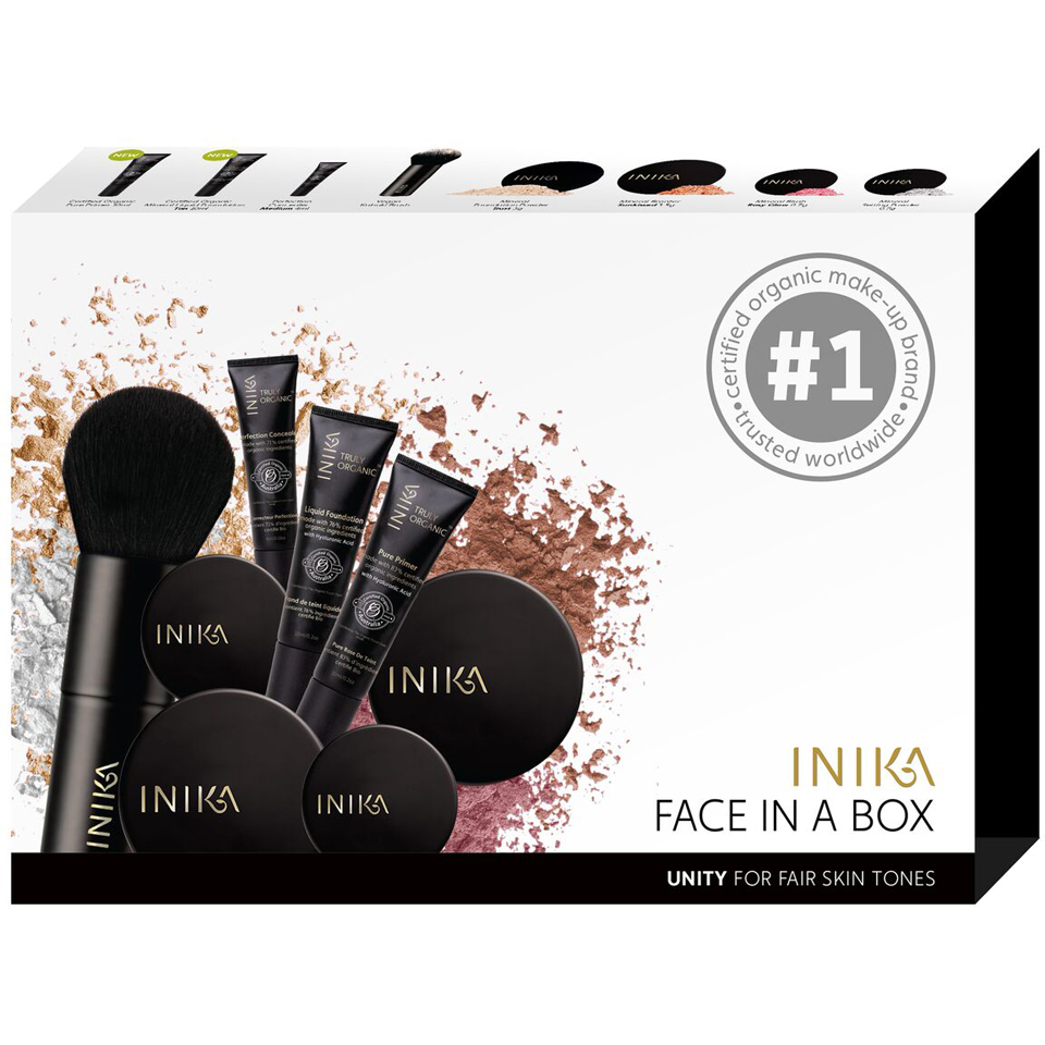 INIKA Face in a Box Starter Kit – Unity (Fair)