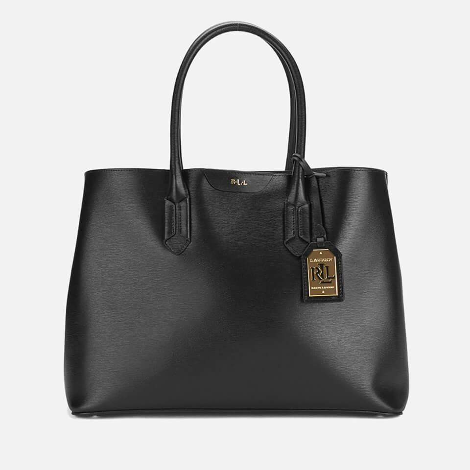 09424b79f725 Lauren Ralph Lauren Women s Tate City Tote Bag - Black