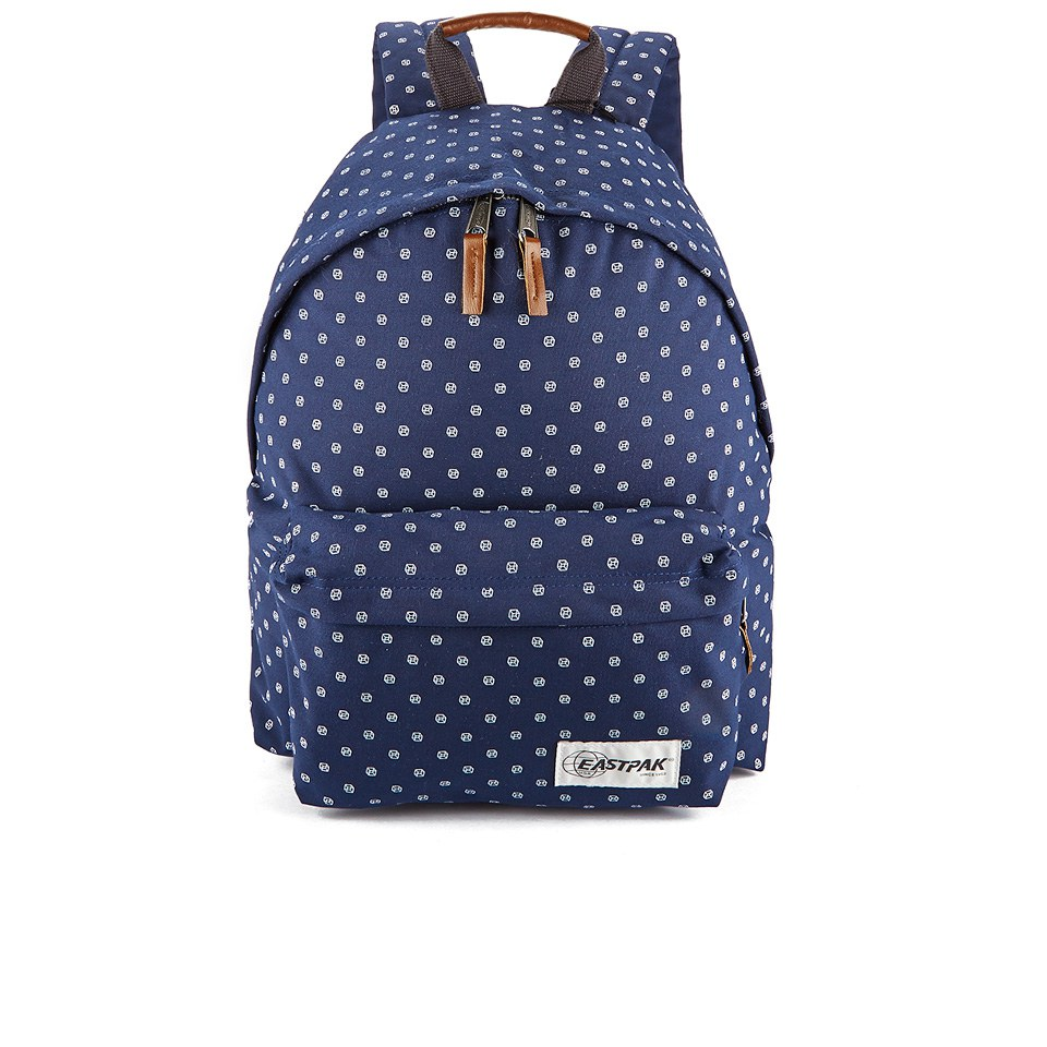 Eastpak Padded Pak r Backpack - Lifeike Printed Navy - Free UK ...