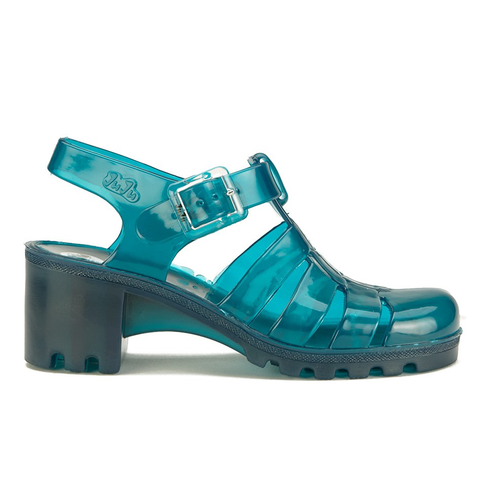 JuJu Women's Babe Heeled Jelly Sandals