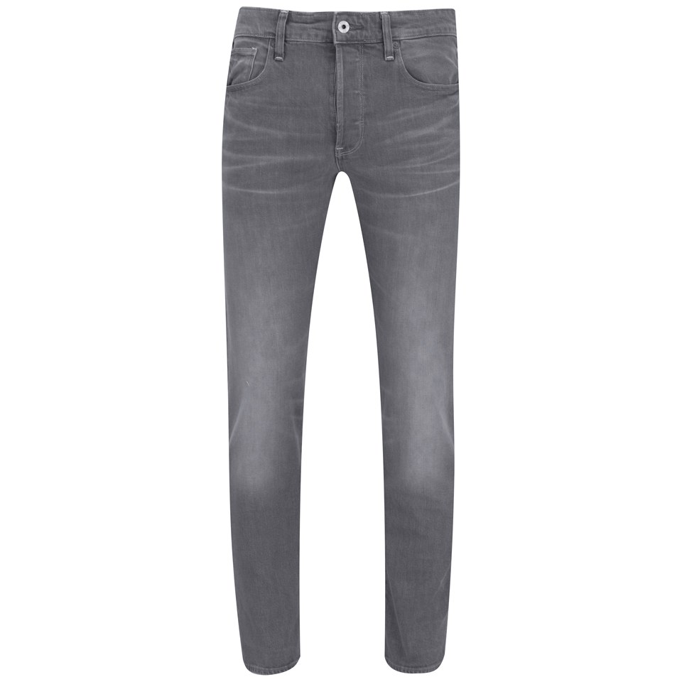 650c3697ab9 G-Star Men's Tapered Fit 3301 Jeans - Light Aged Grey Stretch Mens Clothing  | TheHut.com