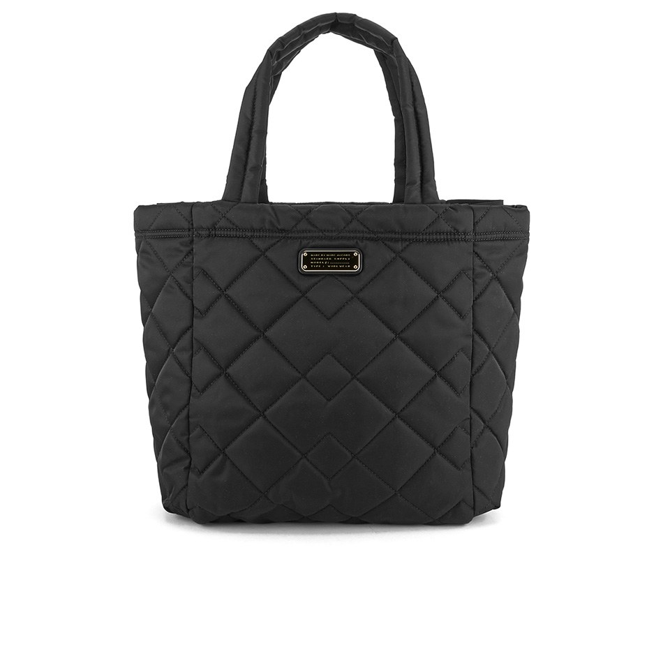 0306391ad ... Marc by Marc Jacobs Women's Crosby Quilted Nylon Tote Bag - Black