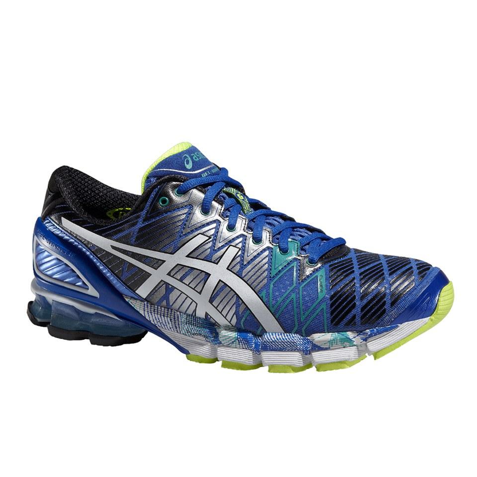 huge discount a90f6 f6a2c Asics Men's Gel Kinsei 5 Cushioning Running Shoes - Blue/White/Emerald Green