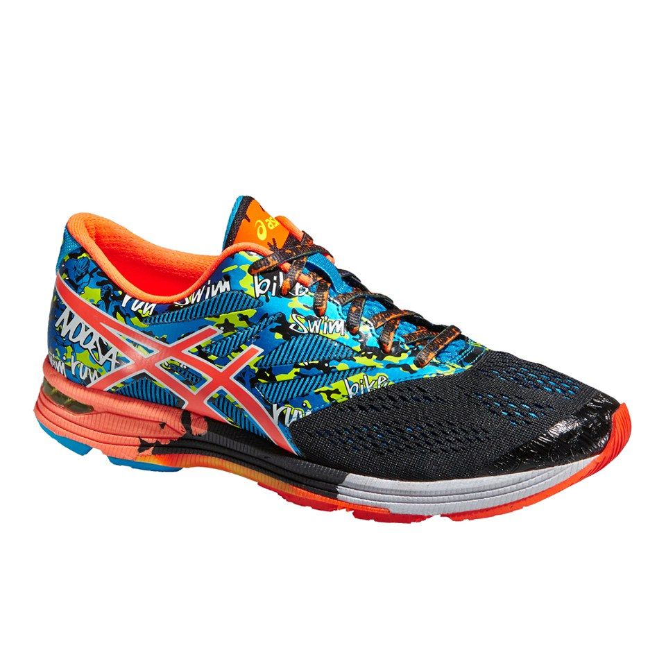 meilleur site web 35389 fc946 Asics Men's Gel Noosa Tri 10 Triathlon Running Shoes - Black/Flash  Orange/Flash Yellow