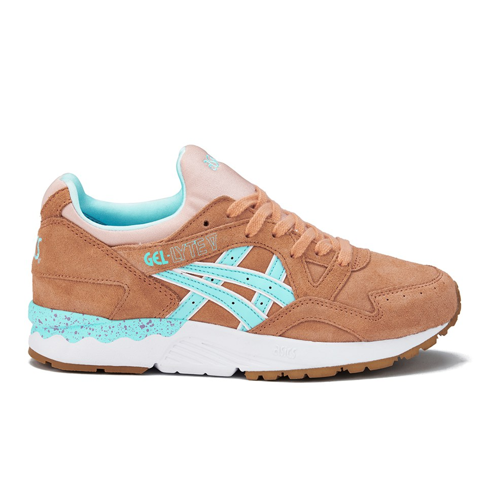 Asics Lifestyle Women's Gel Lyte V Trainers Coral ReefClear Water