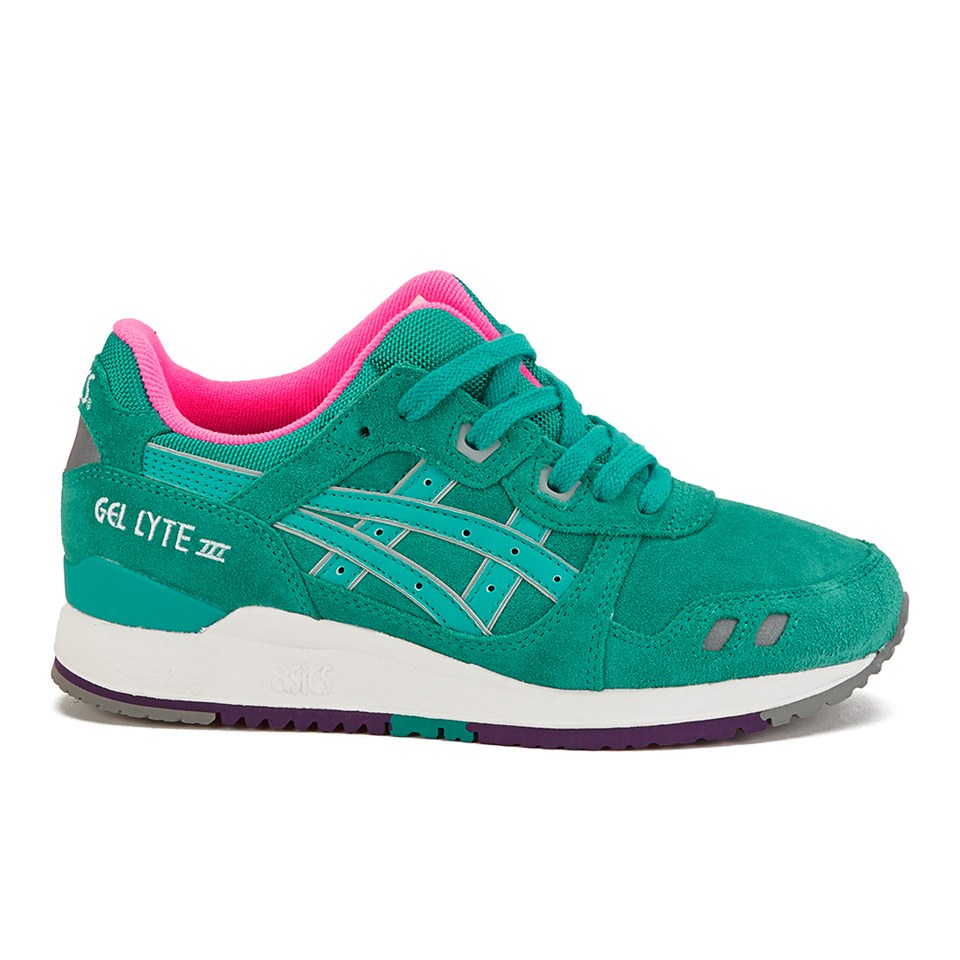 official photos c36a4 e3c71 Asics Lifestyle Gel-Lyte III Trainers - Tropical Green