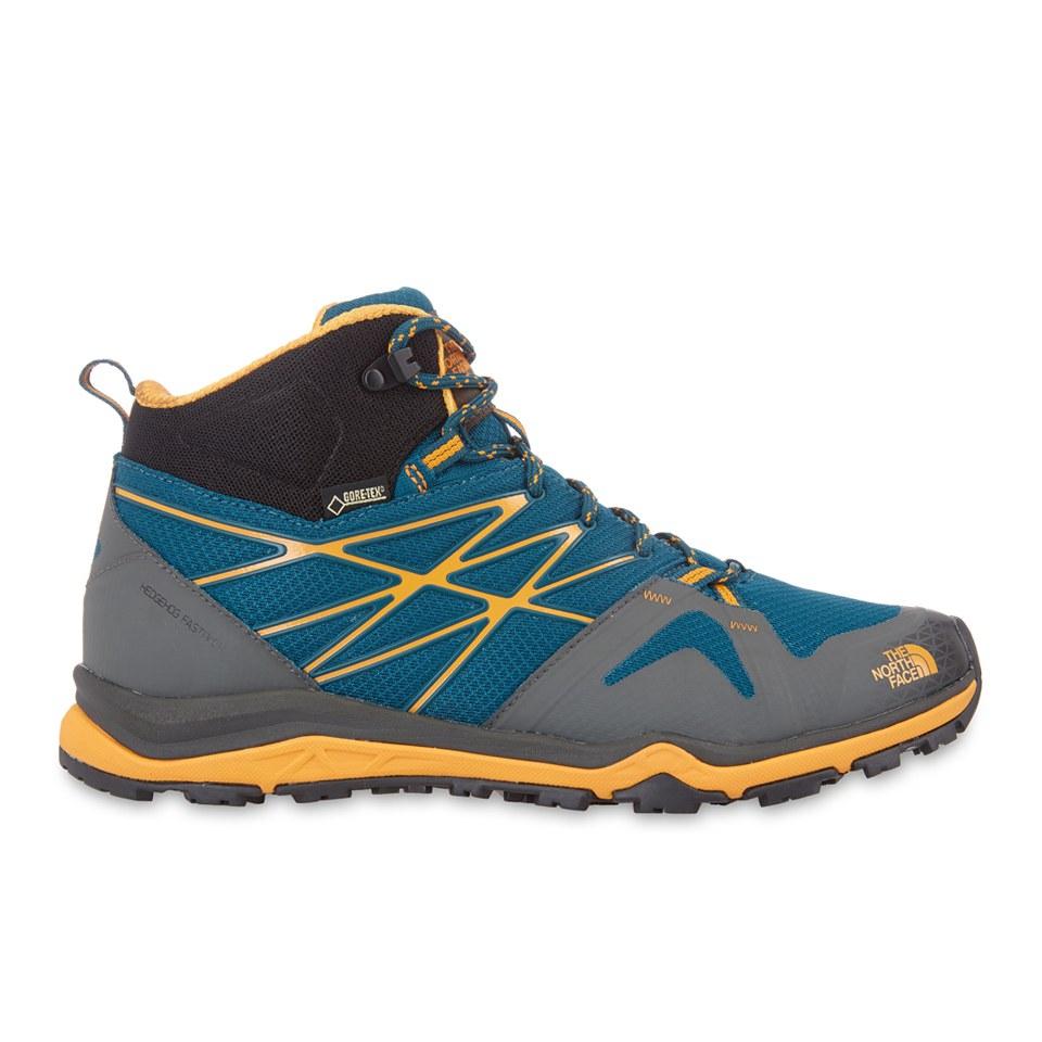3dd1526aeac The North Face Men's Hedgehog Fastpack Lite Gore-Tex® Hiking Shoes - Deep  Teal Blue/Brushfire Orange