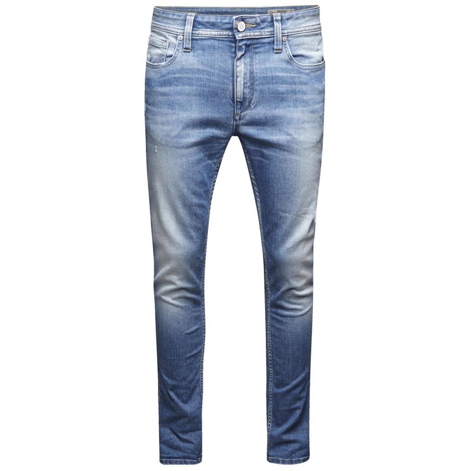 Jack Amp Jones Men S Ben Original Skinny Fit Jeans Light