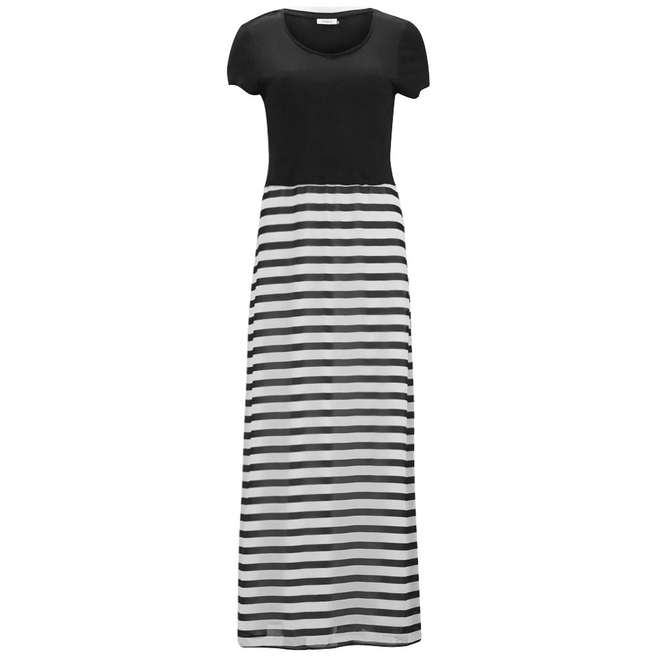 7fe1f78bfd8daa ONLY Women s Malika Maxi Dress - Black Womens Clothing