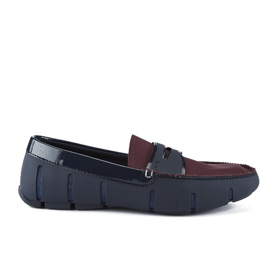 853c042614b SWIMS Men s Penny Loafers - Navy Port Shine - Free UK Delivery over £50