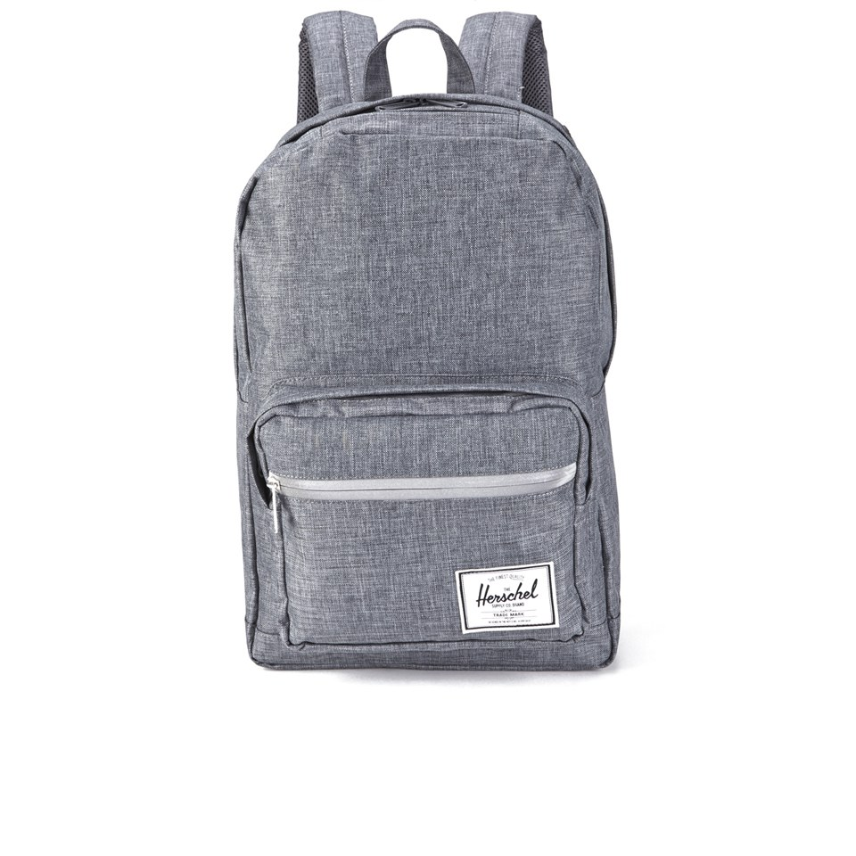 180f4fbafe27 Herschel Supply Co. Pop Quiz Backpack - Charcoal Crosshatch Black Rubber -  Free UK Delivery over £50