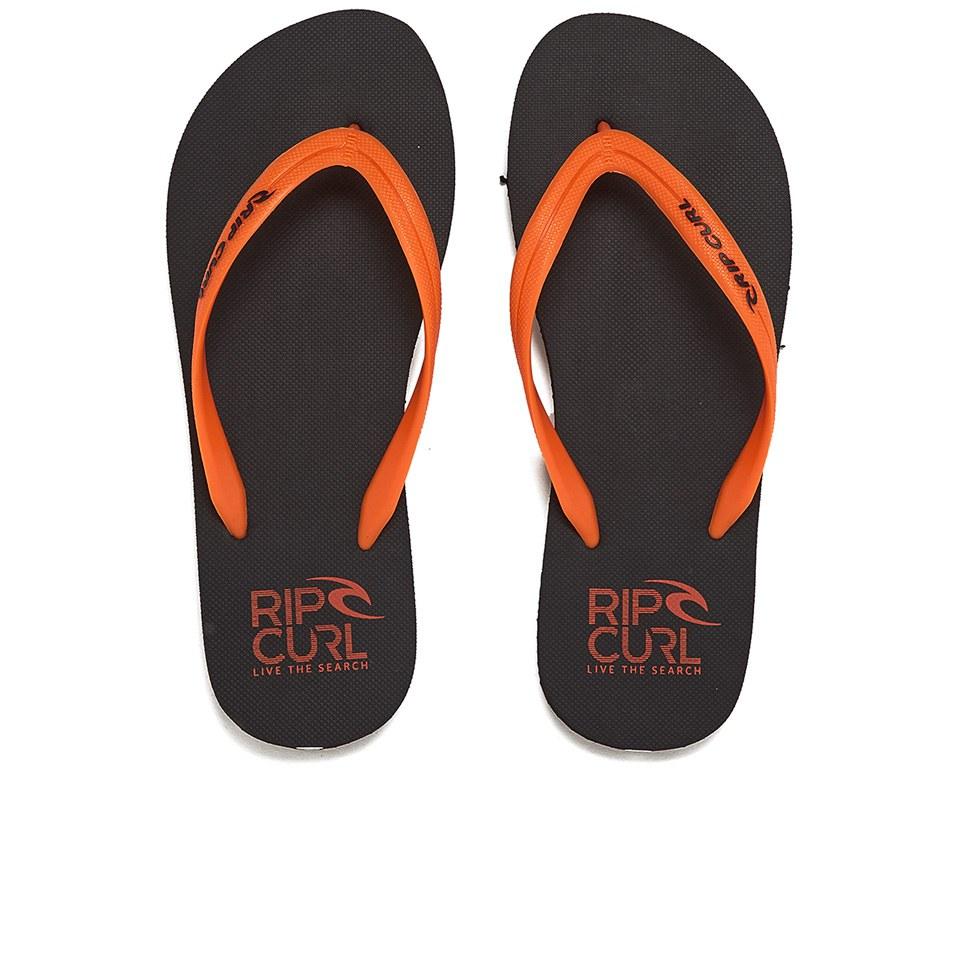 3e3b104d6ae2 Rip Curl Men s MC EVA Flip Flops - Black Orange Mens Footwear