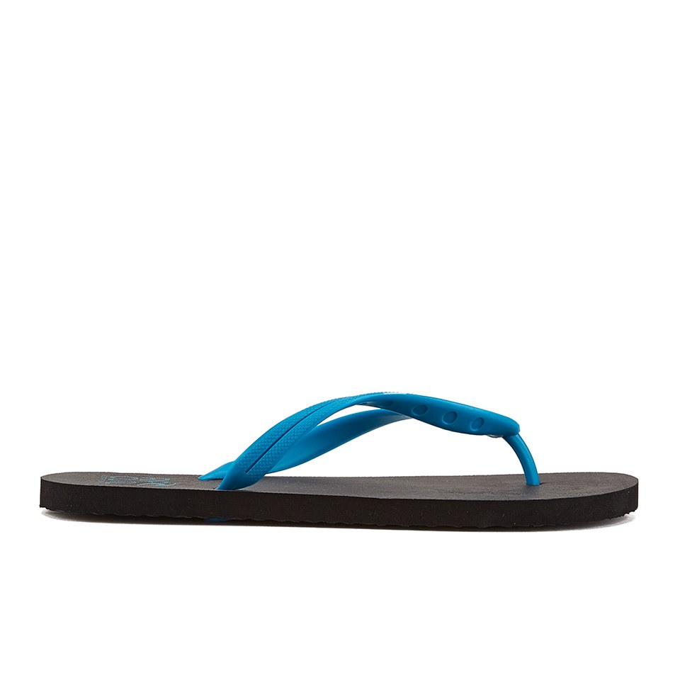 091876edc506 Rip Curl Men s MC EVA Flip Flops - Black Blue Mens Footwear