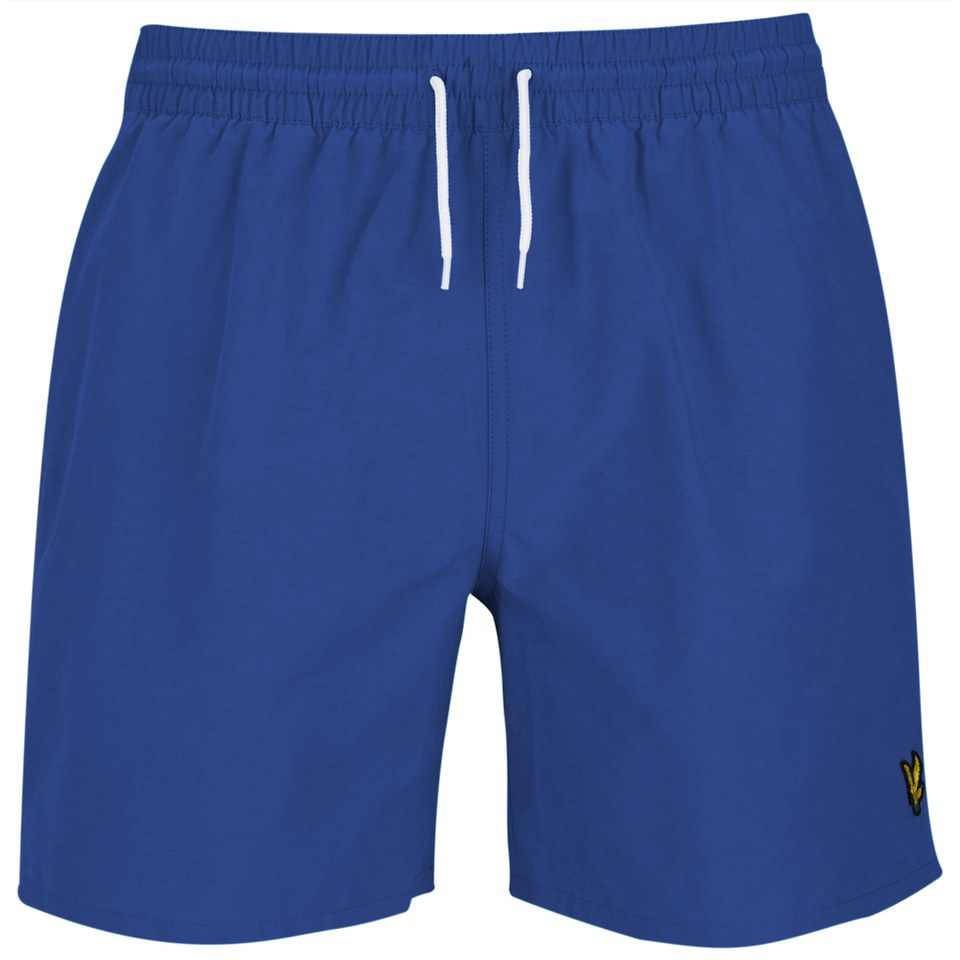 e72f02945b71d Lyle & Scott Men's Plain Swim Shorts - French Navy - Free UK Delivery over  £50