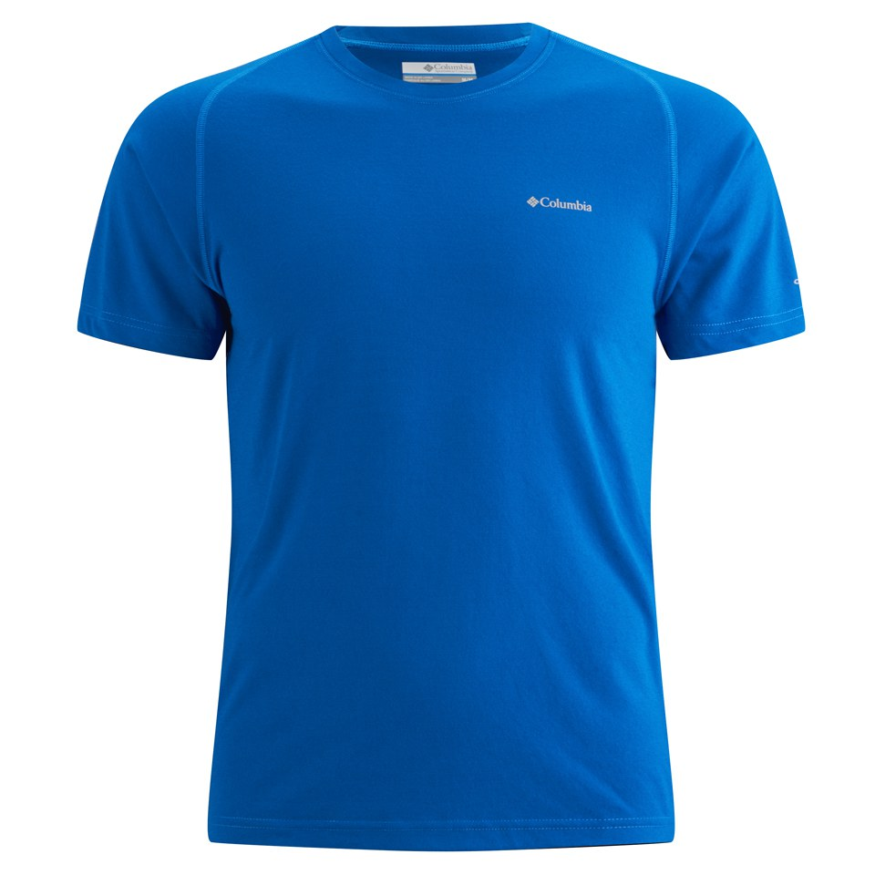 134a43a5 Columbia Men's Mountain Tech III T-Shirt - Hyper Blue Sports ...
