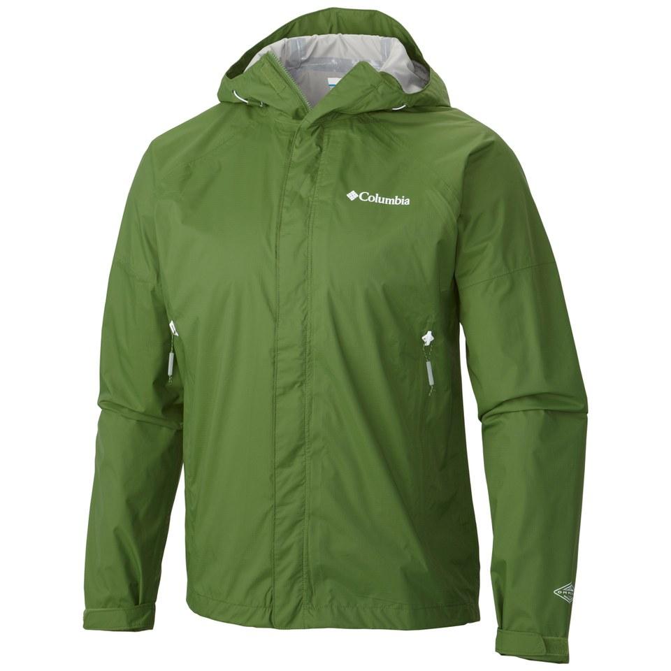 Columbia Men S Sleeker Waterproof Jacket Green Sports