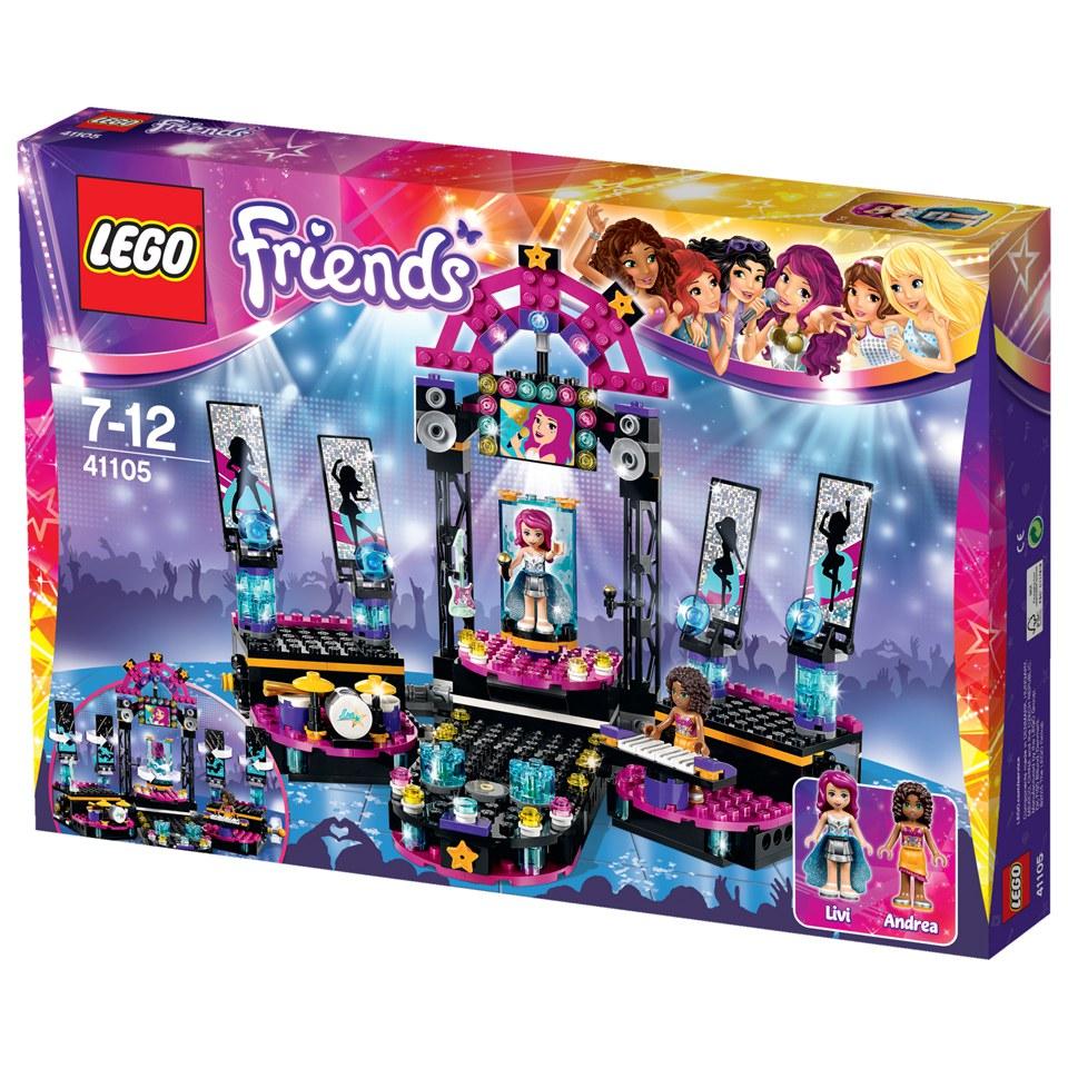 Lego Friends Pop Star Show Stage 41105 Toys Zavvi