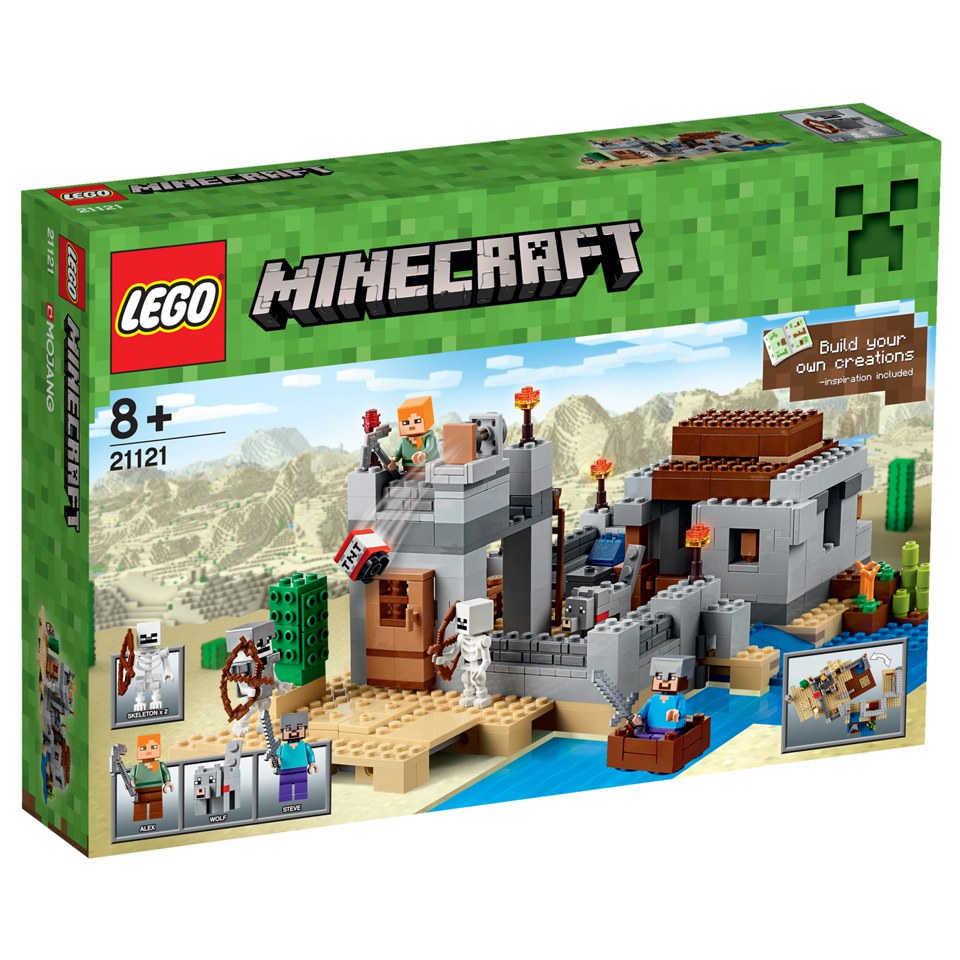 LEGO Minecraft: The Desert Outpost (21121)