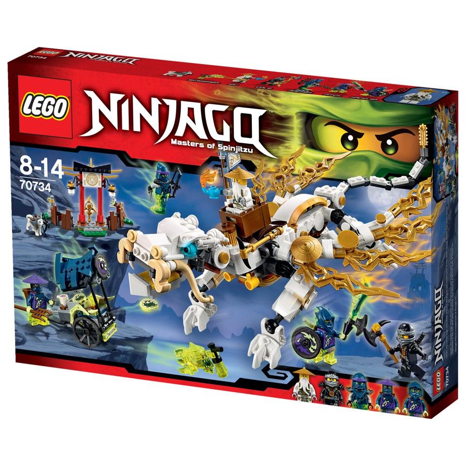 Lego Ninjago Toys : Lego ninjago master wu dragon toys thehut