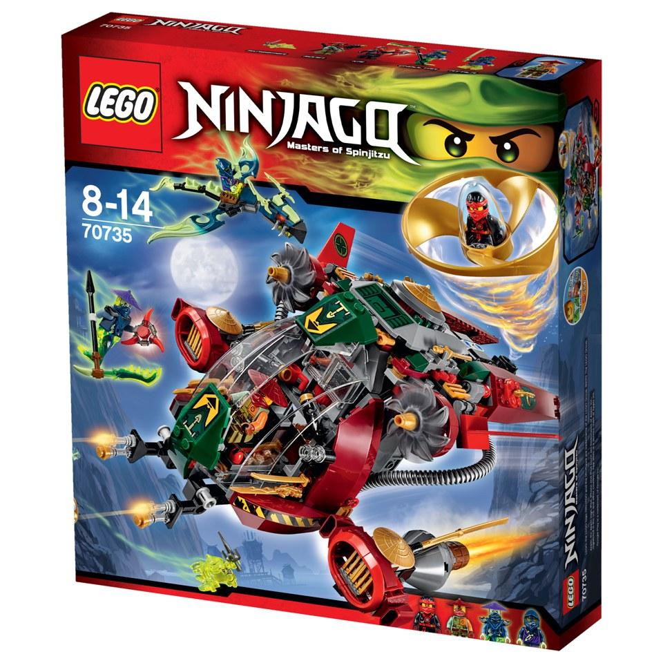 lego ninjago ronin rex 70735 spielzeug  zavvide