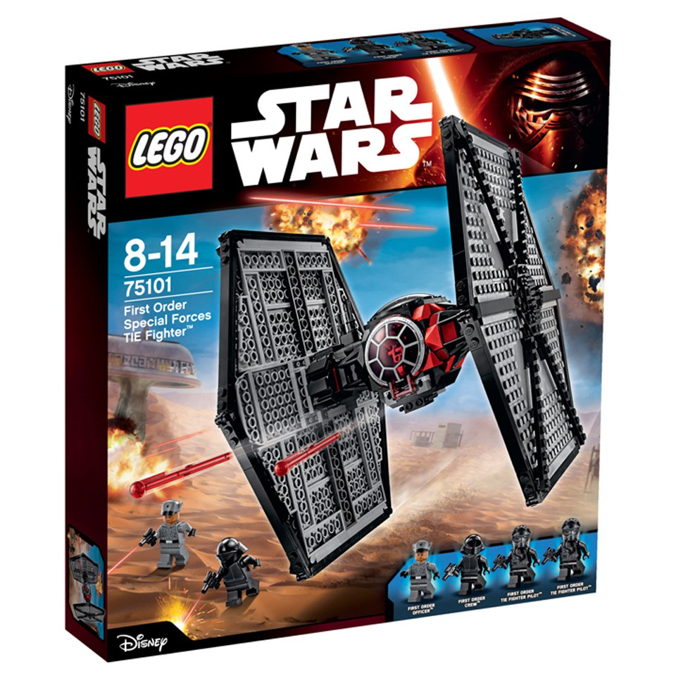 LEGO Star Wars: First Order Special Forces TIE Fighter™ (75101)