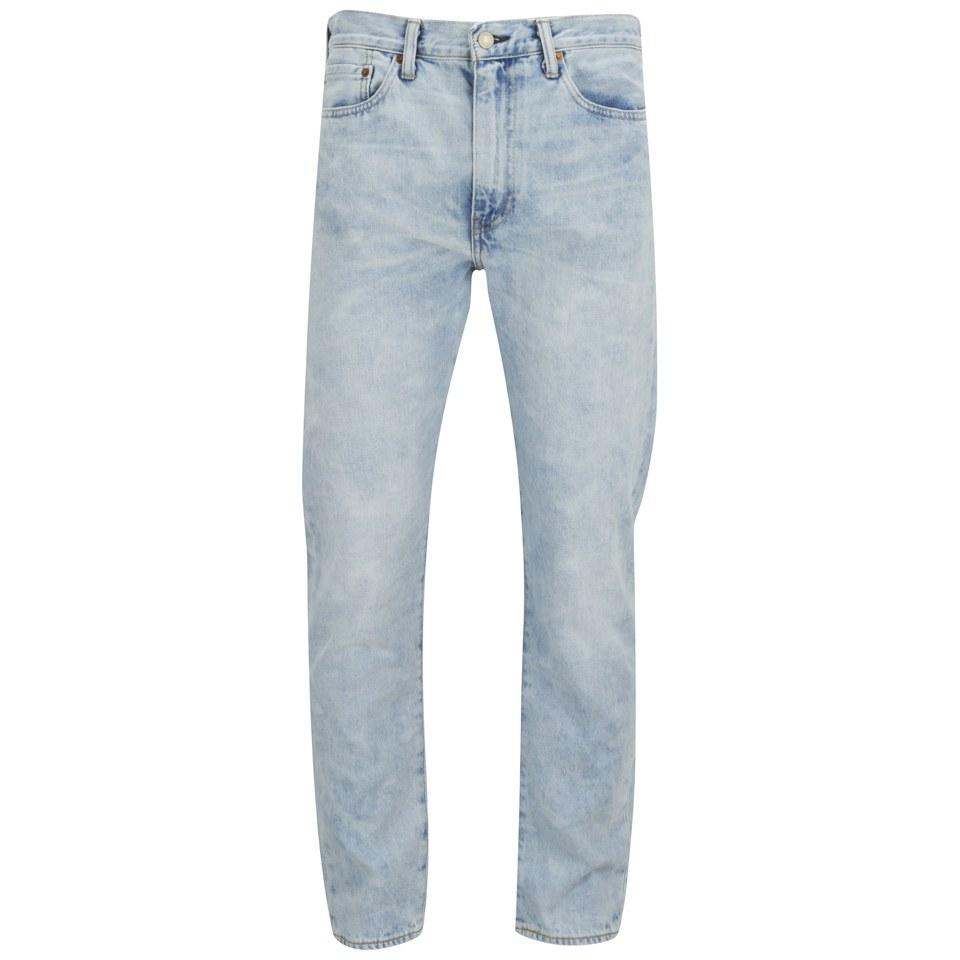 6c8481690b1 Levi's Men's 522 Slim Tapered Fit Jeans - Light Fantastic - Free UK ...