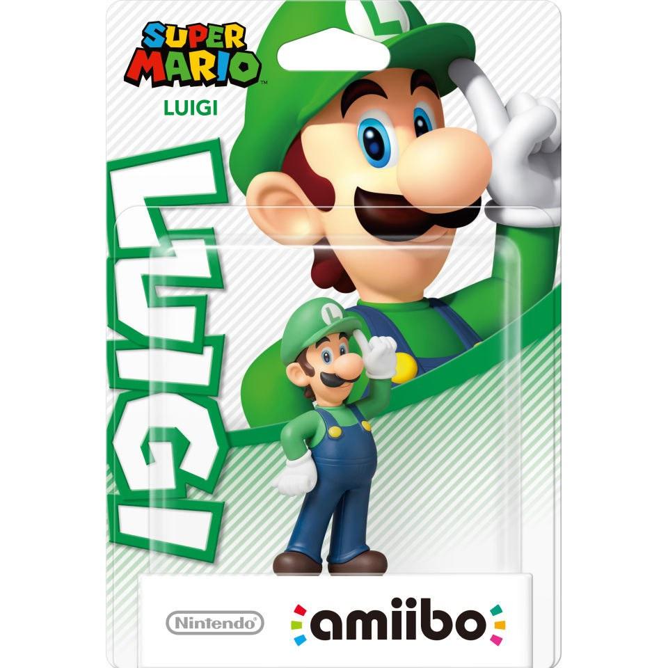 Luigi Amiibo Super Mario Collection Nintendo Uk Store