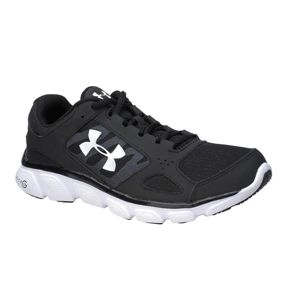 dc1fe8873f Under Armour Men's Micro G Assert V Running Shoes - Black/White
