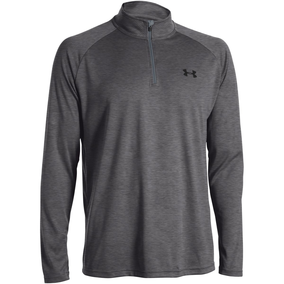 9b806e7b1 Under Armour Men's Tech 1/4 Zip Long Sleeve Top - Grey. Description
