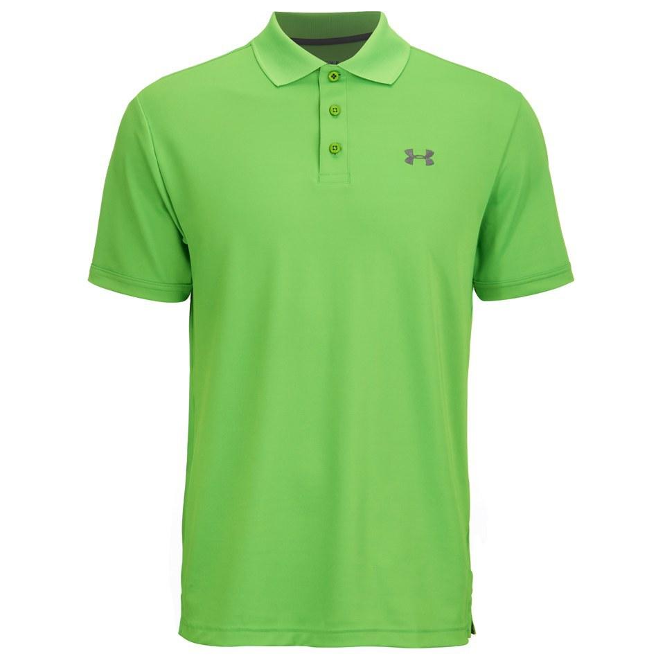 41d05fa0 Under Armour Men's Ua Performance Polo Shirt - Academy Green Energy ...