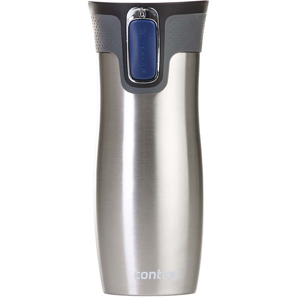 Contigo West Loop Autoseal 470ml Travel Mug - Stainless Steel