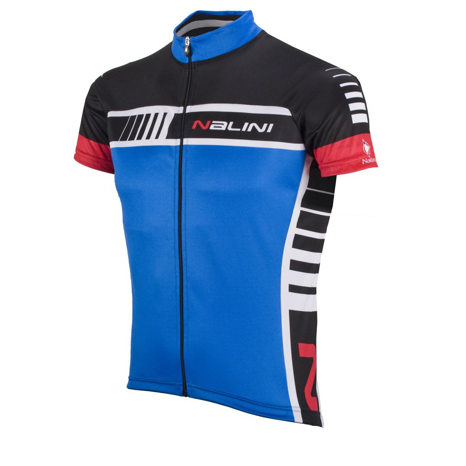 Nalini Red Label Tescio Short Sleeve Jersey - Blue  741ccf03b