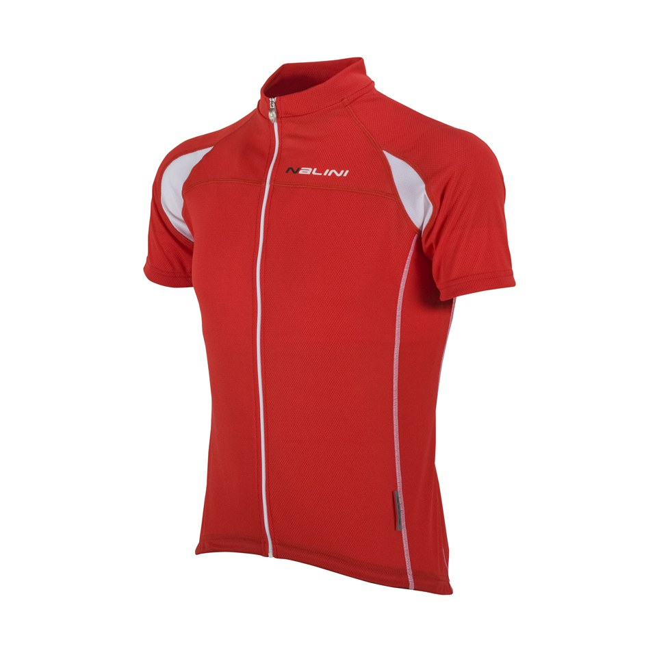 Nalini Red Label Karma Tl Short Sleeve Jersey - Red