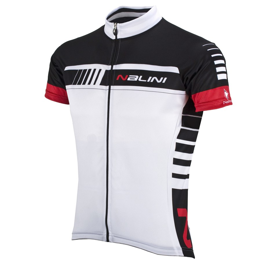 Nalini Red Label Tescio Short Sleeve Jersey - White  c7150e216