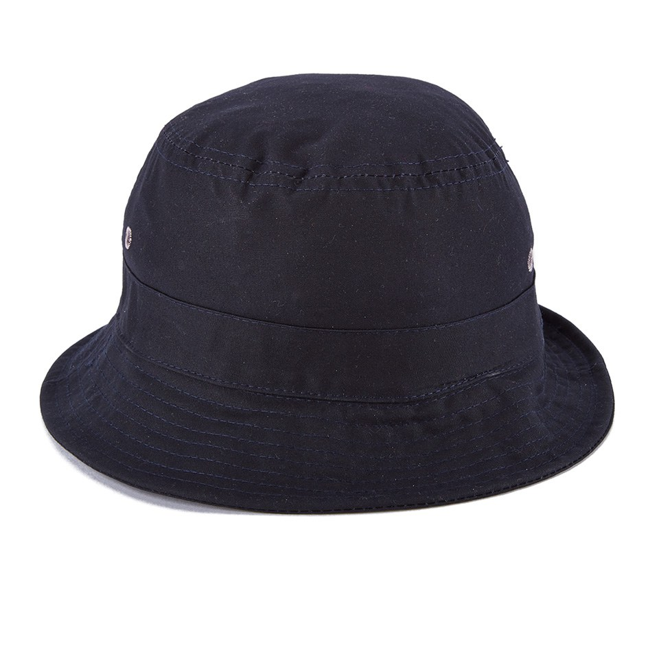 b21666bfe79 Universal Works Bucket Hat - Navy Dry Wax - Free UK Delivery over £50