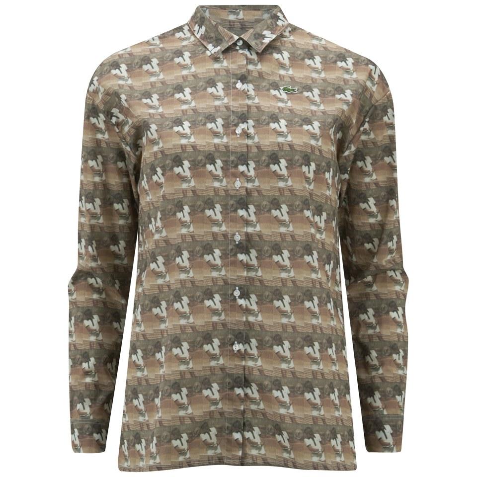 8cc7e557 Lacoste Live Vintage Ads Women's Shirt - Multi - Free UK Delivery ...