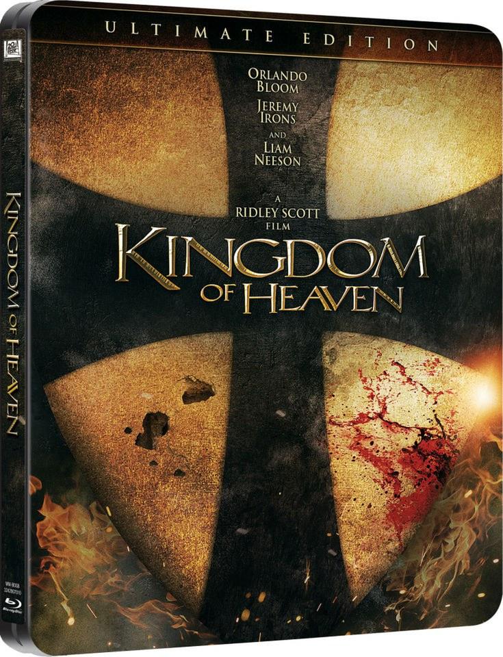 kingdom of heaven steelbook edition bluray zavvi