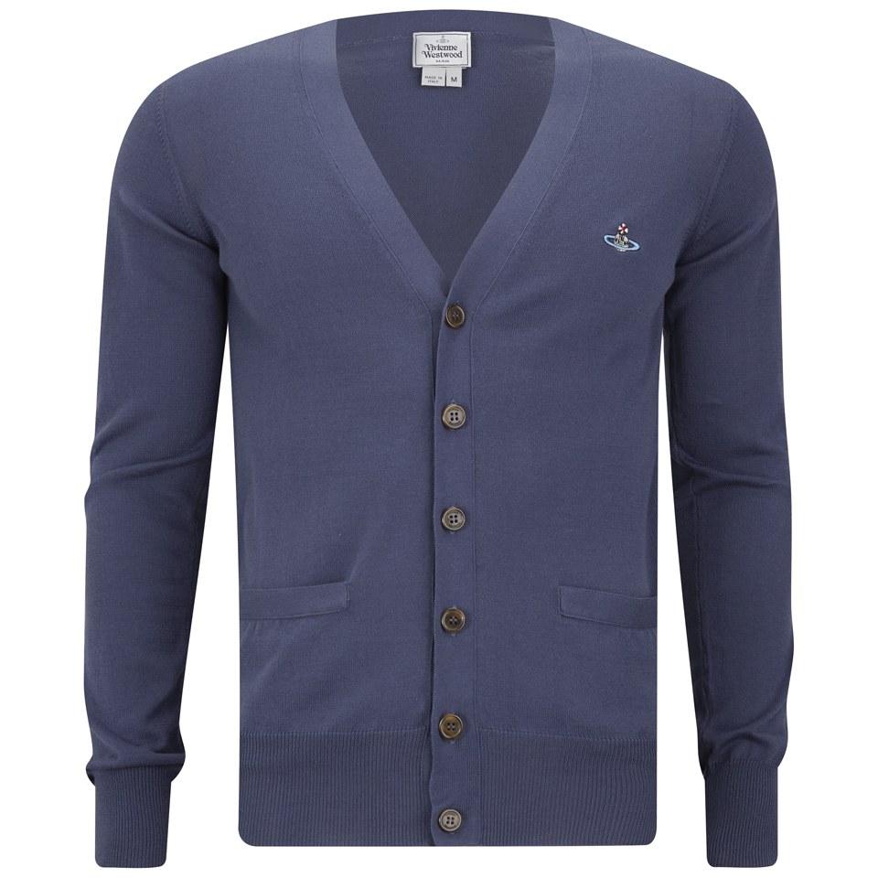 961af514738 Vivienne Westwood Men's Classic Cardigan - Navy