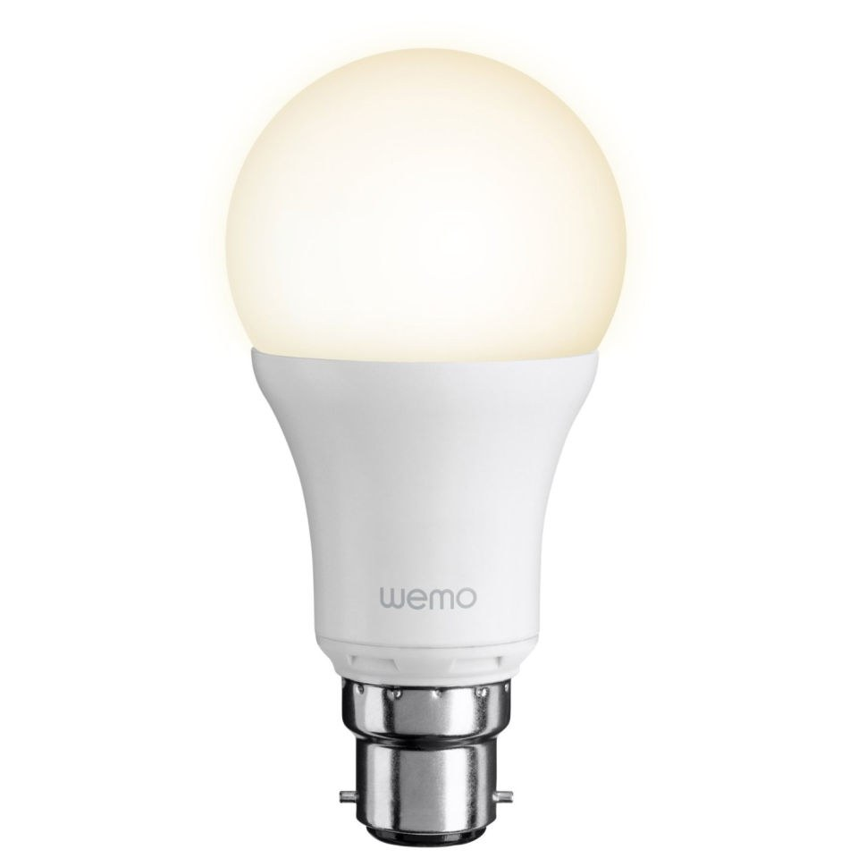 Belkin Wemo Led Single Light Bulb Bayonet Homeware Zavvi Adds Switch Looks To Tack On Android Compatibility Description