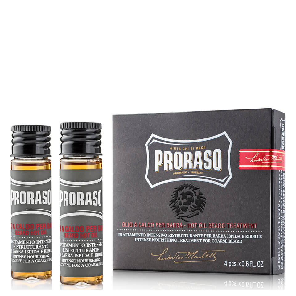 proraso hot oil beard treatment buy online mankind. Black Bedroom Furniture Sets. Home Design Ideas