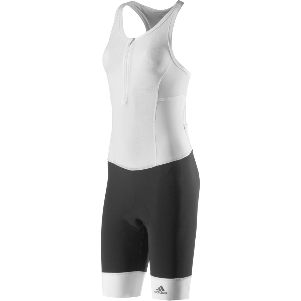 authorized site cute cheap on feet at adidas Women's Adistar Bib Shorts - Black/White