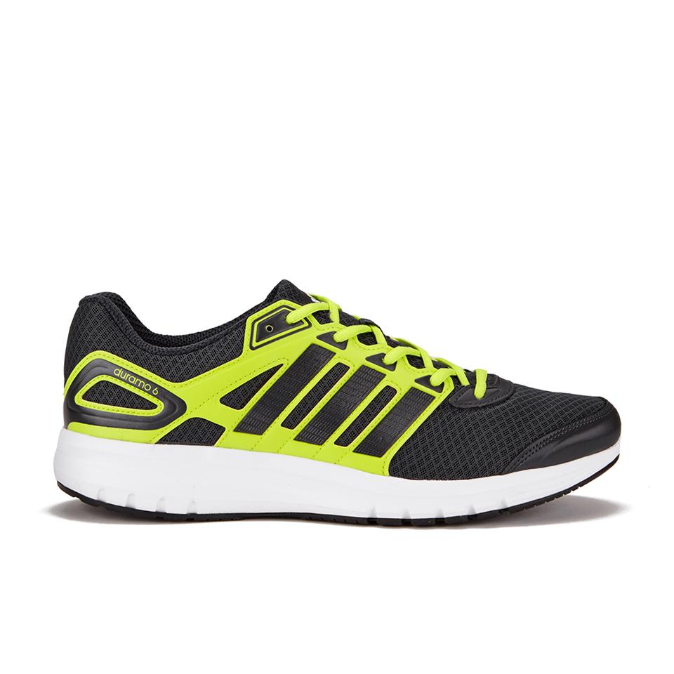 adidas Men's Duramo 6 Running Shoes GreyBlack