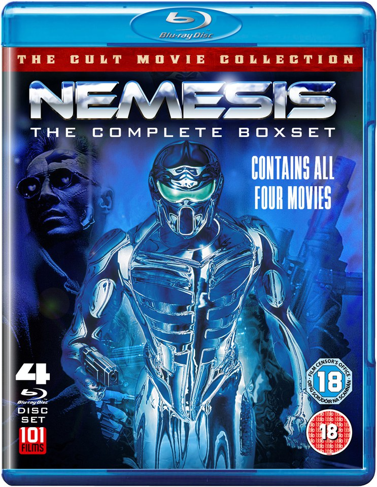 Nemesis 1-4 Boxset Blu-ray | Zavvi.com