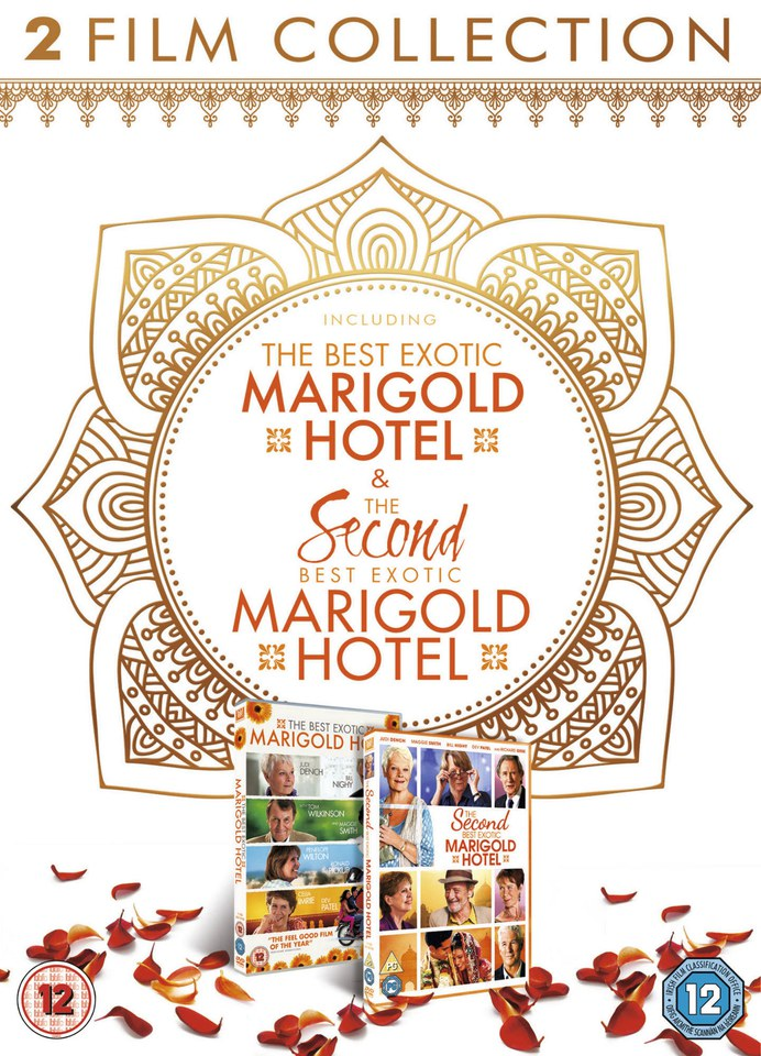 The Second Best Exotic Marigold Hotel 1-2 Box Set