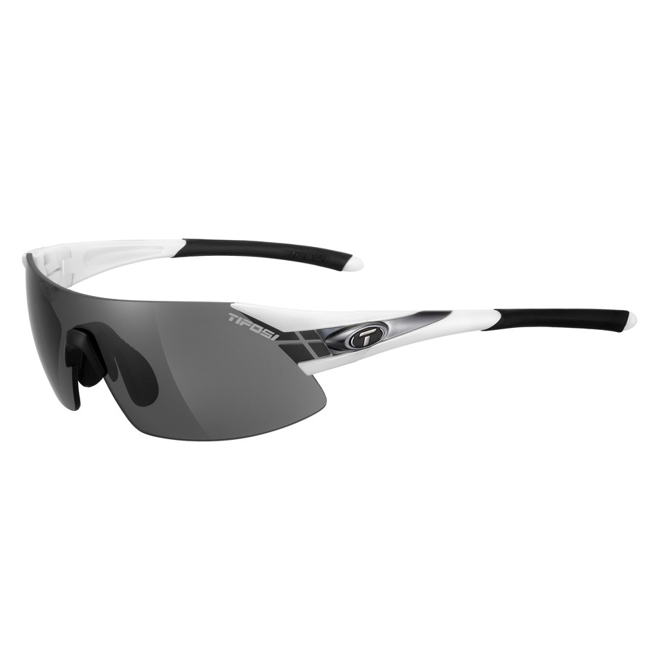 Tifosi Podium XC Sunglasses - White/Gunmetal/Smoke